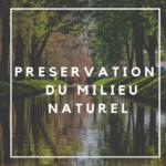 écologie industrielle - préservation du milieu naturel